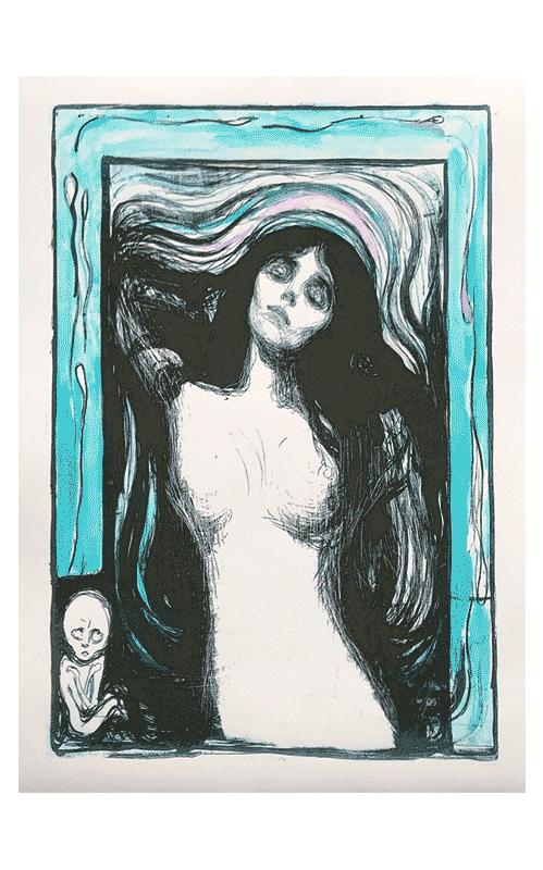 Edvard Munch Fine Art Madonna