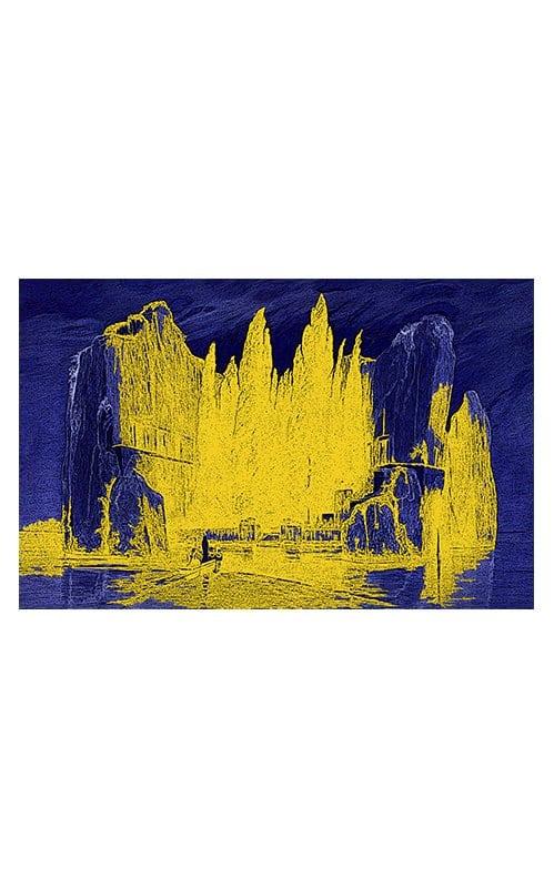 Arnold brocklin giclee print