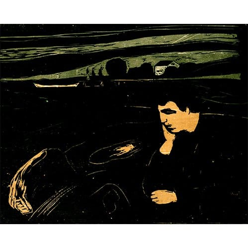 Edvard munch giclee print