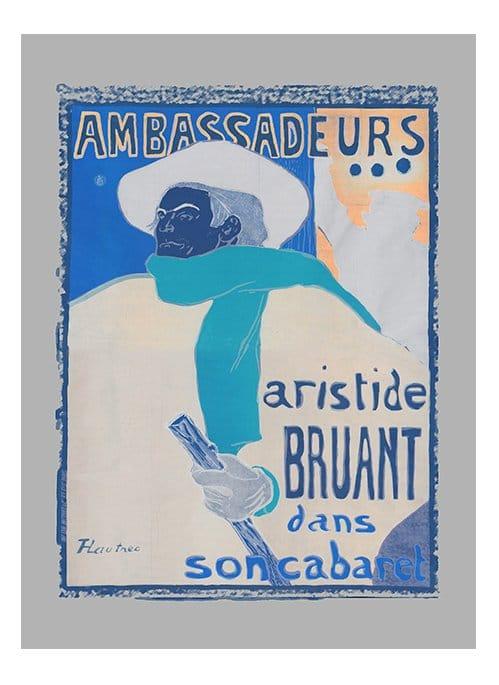 ambassadeurs artiste bruant giclee print