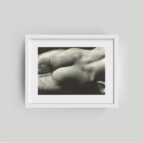 framed alfred steiglitz print