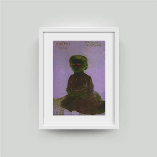 ferenczy fine art print framed