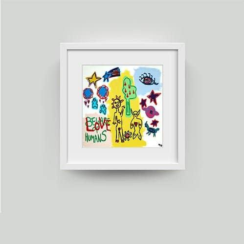 framed mikkel ullah print
