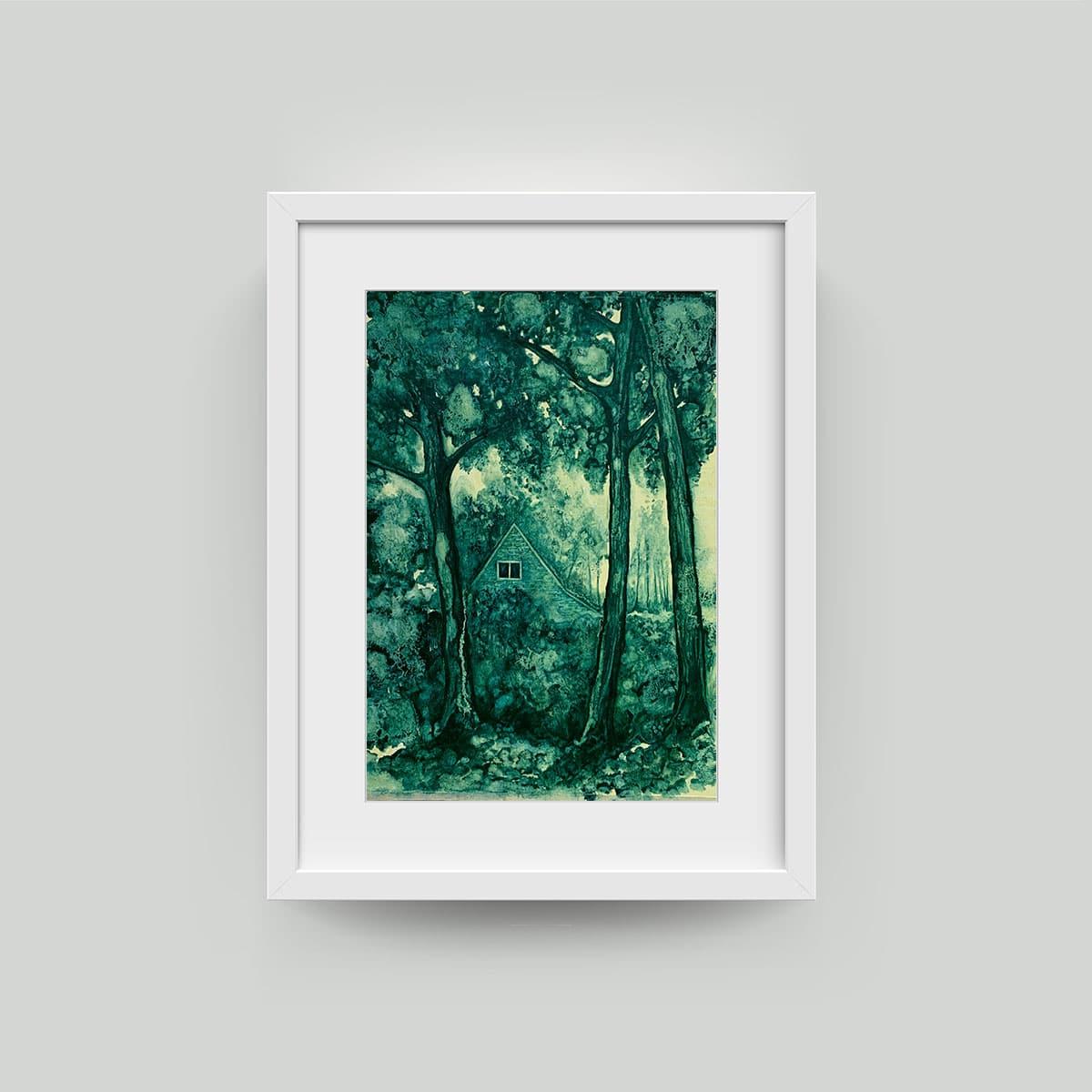 twinkle troughton framed art