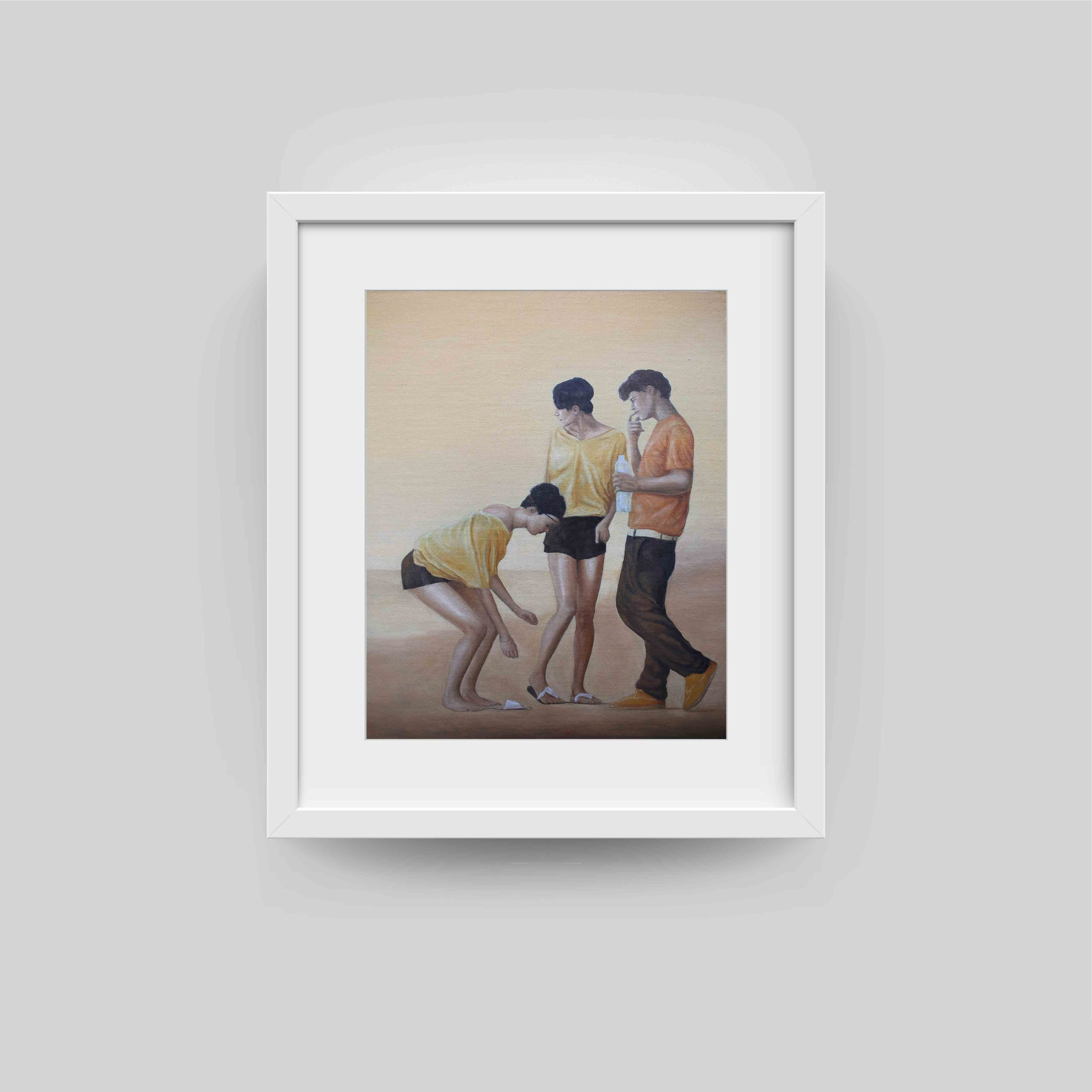 simon weir framed art print