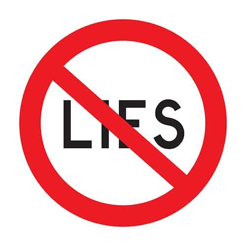 lies print
