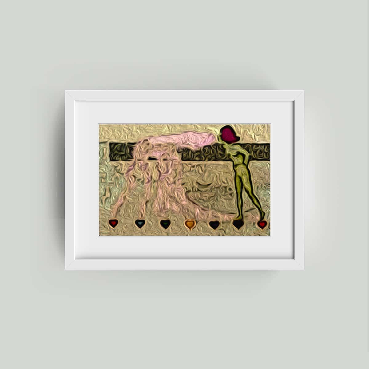 kirchner art framed