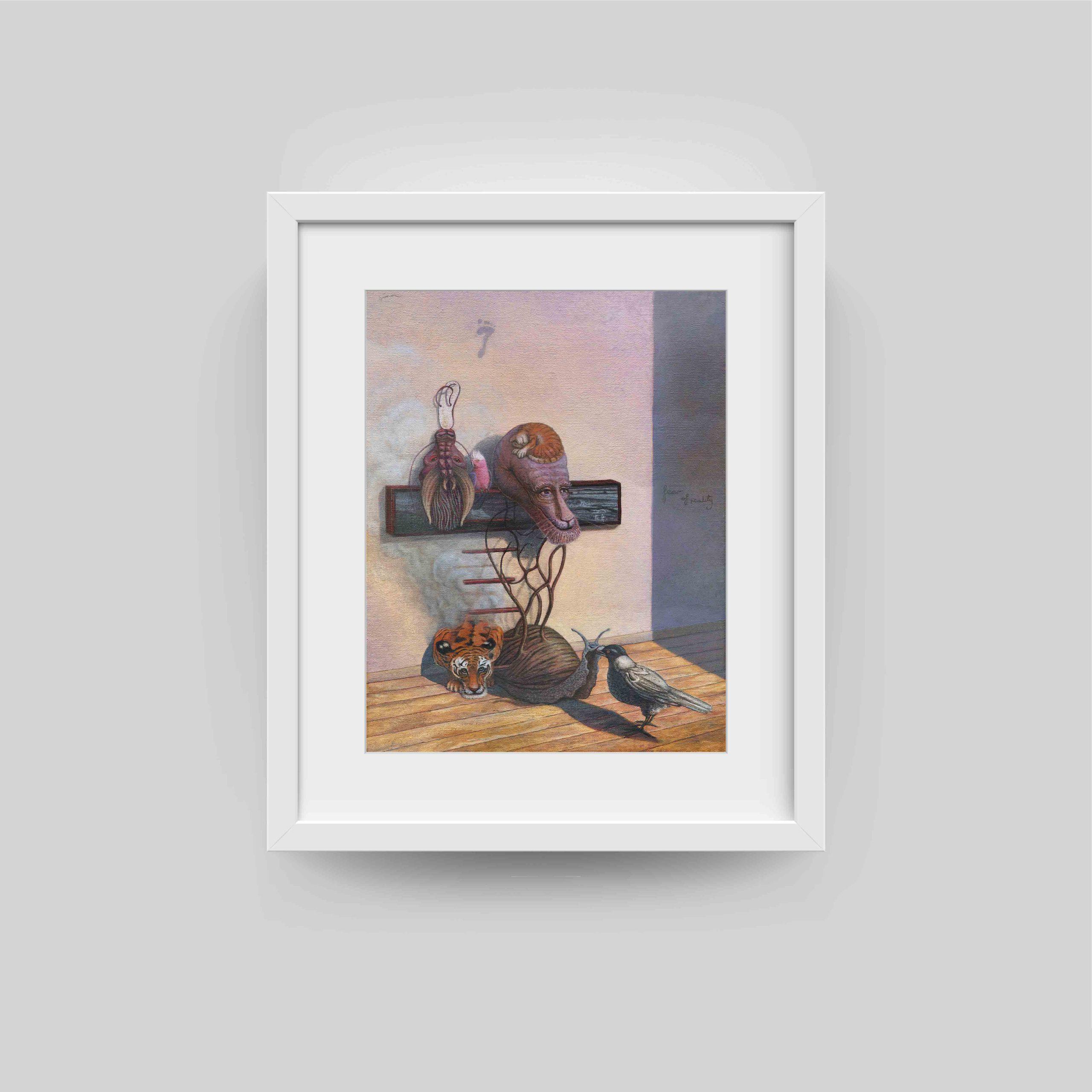 simon weir framed art