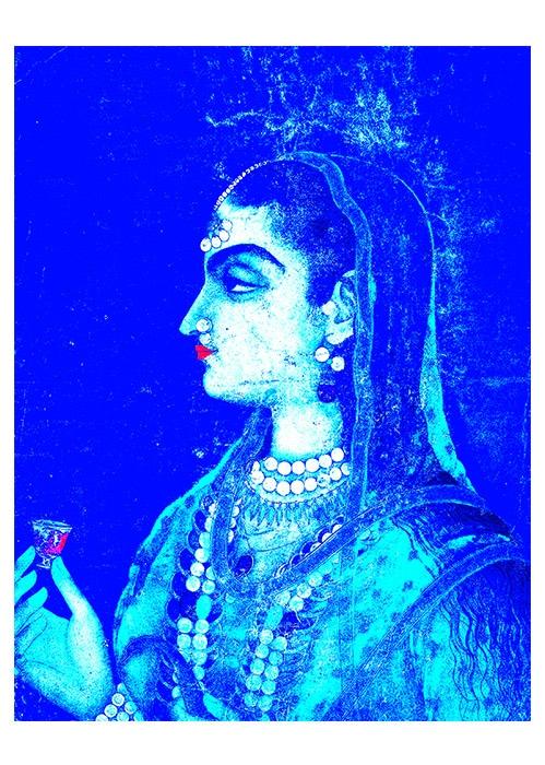 mughal print