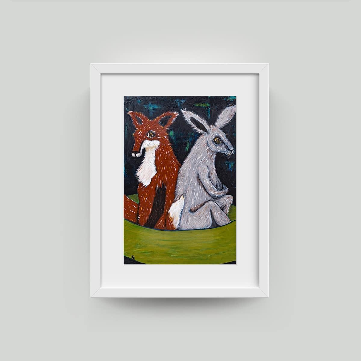 karen grey framed art