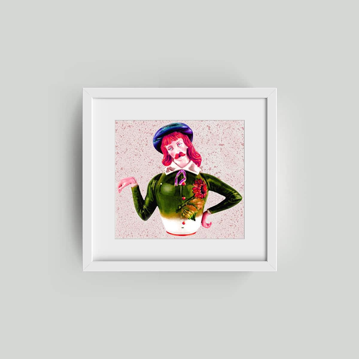 cult art framed