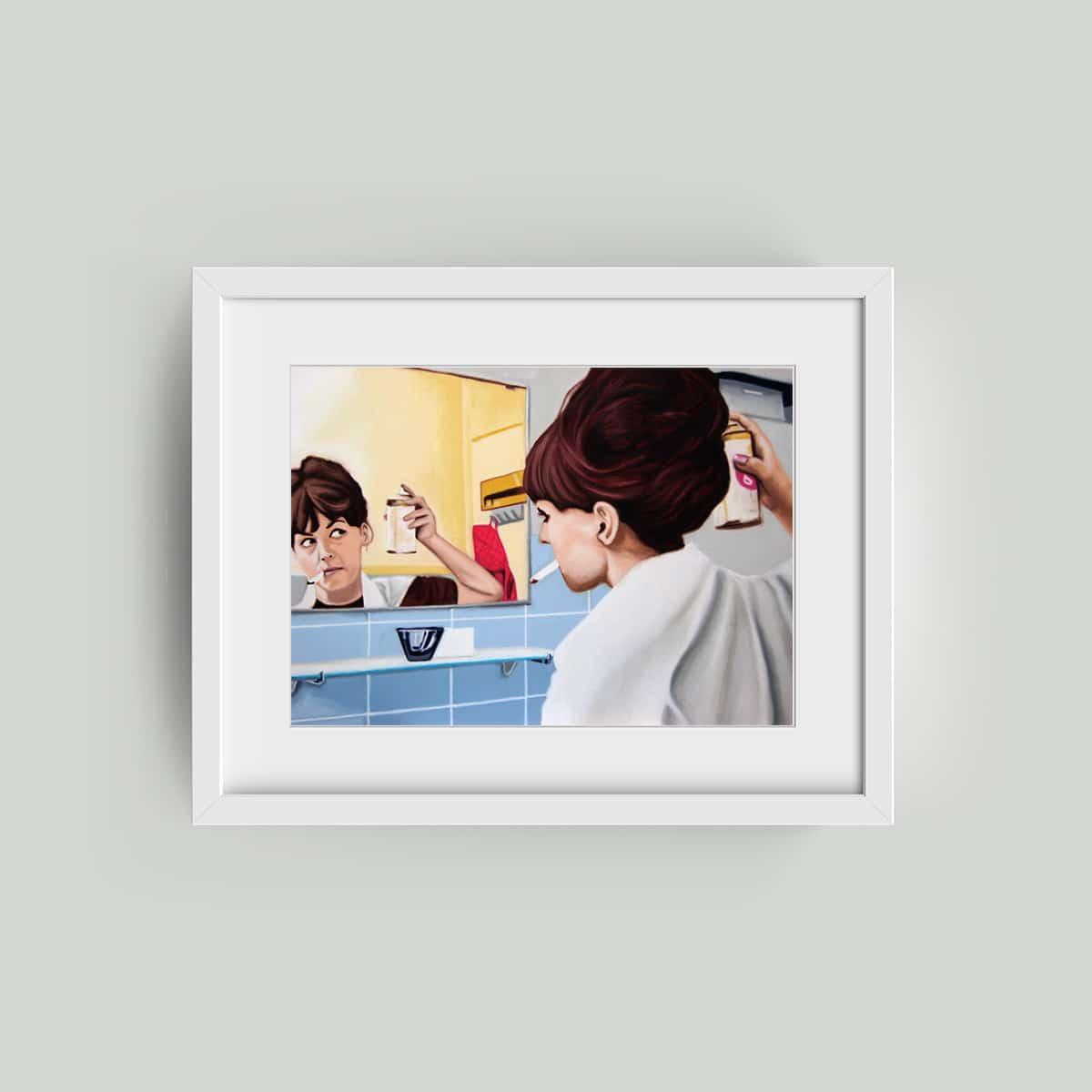 framed sig waller print