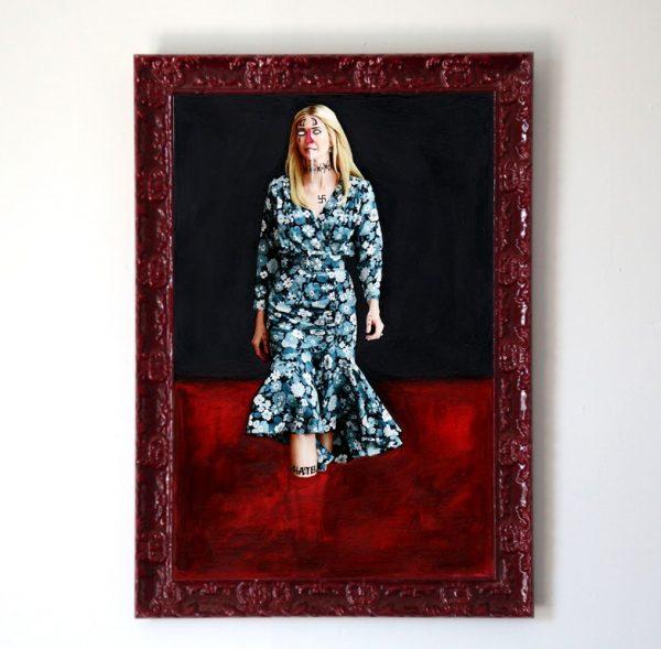 trump art framed
