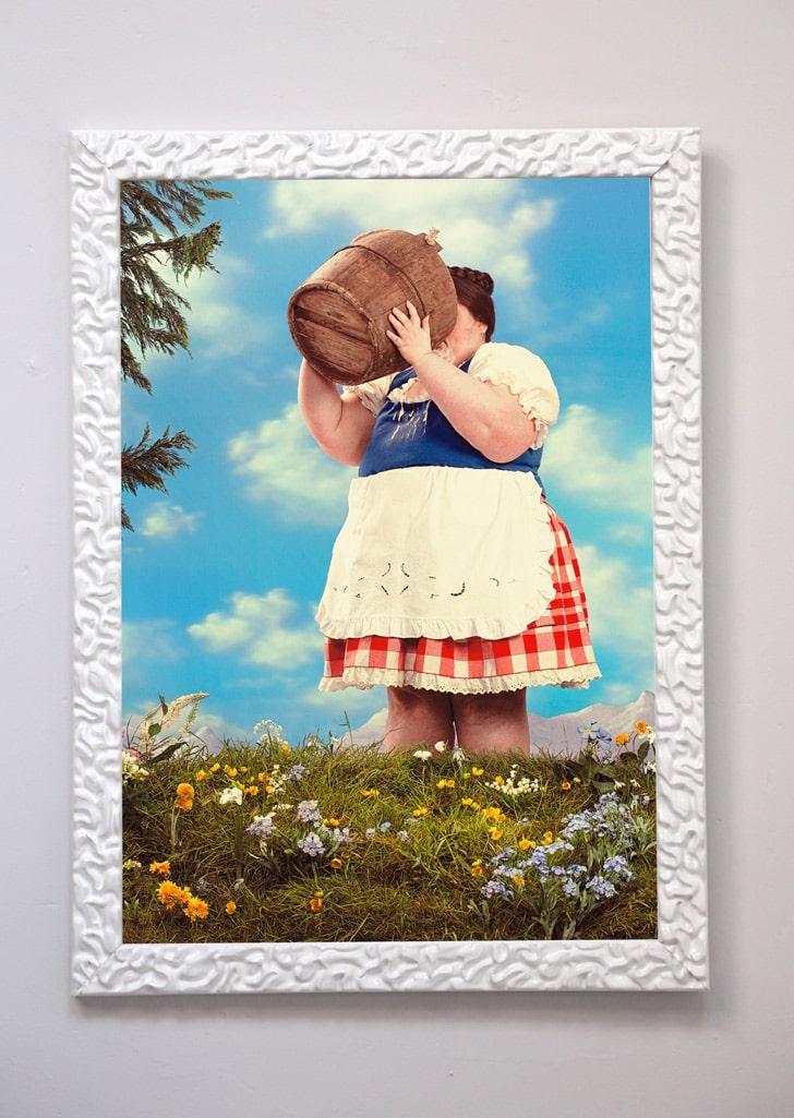mark denton framed print