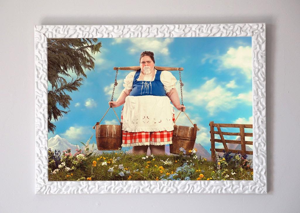 framed mark denton print