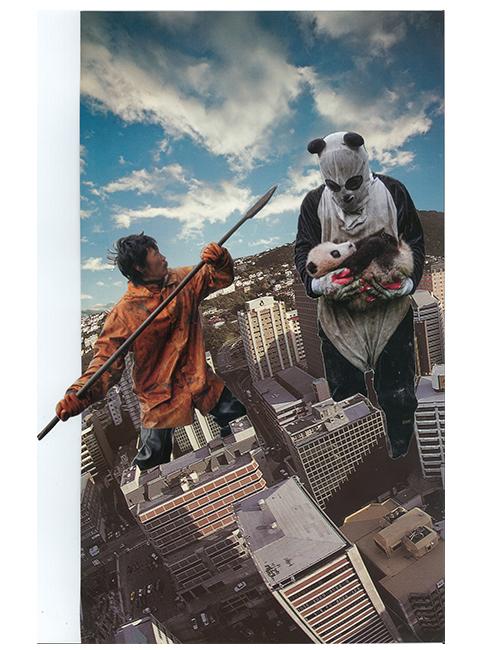giant panda print