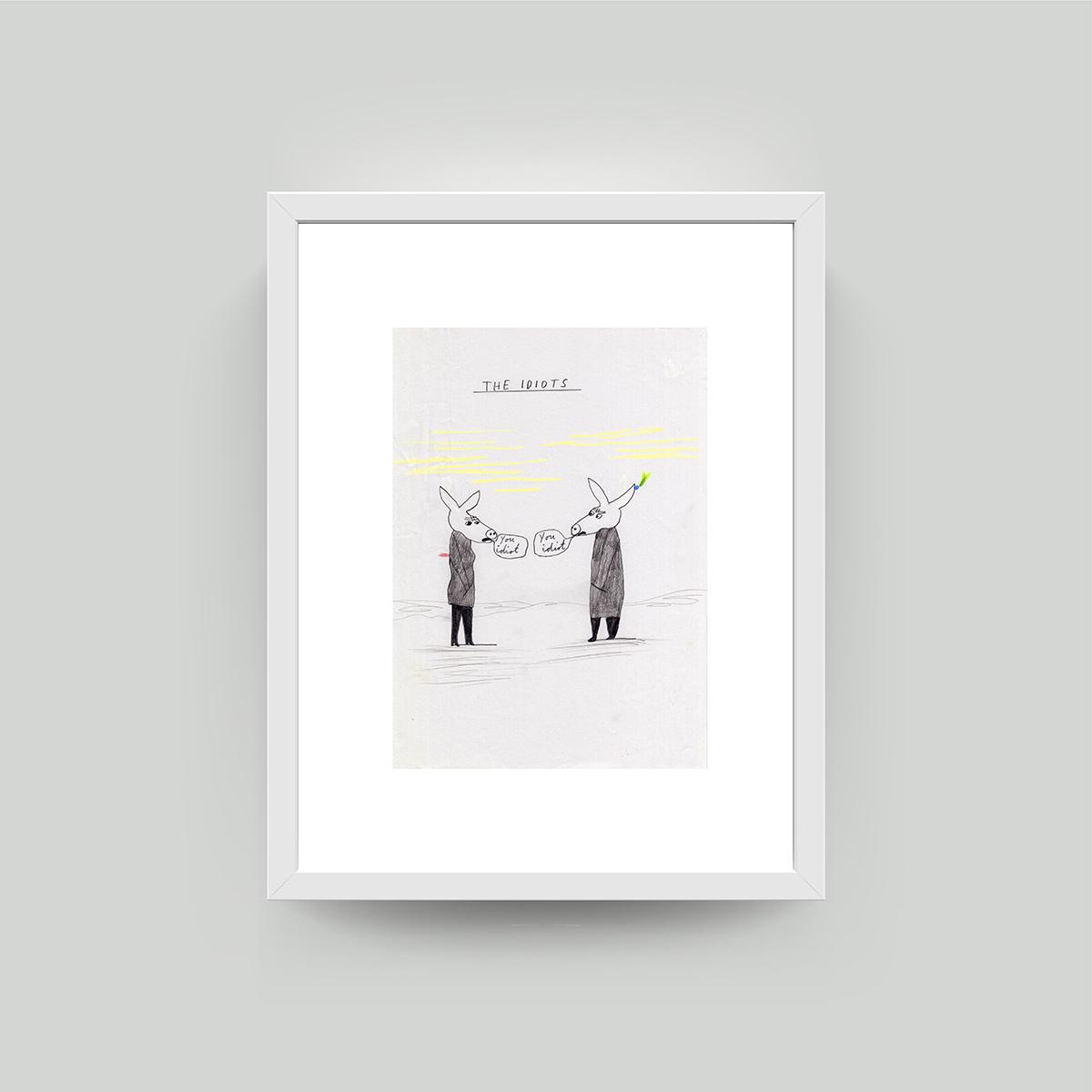 paul davis framed art print